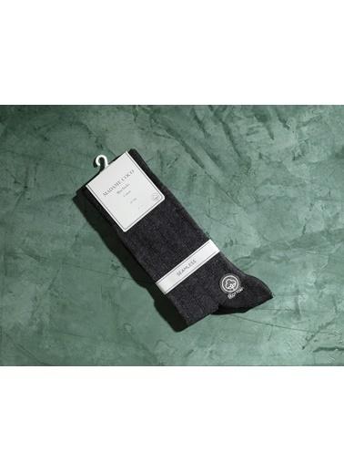 Madame Coco Dijon Erkek Soket Çorap  Antrasit